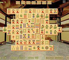 Zręcznościowe Mahjong